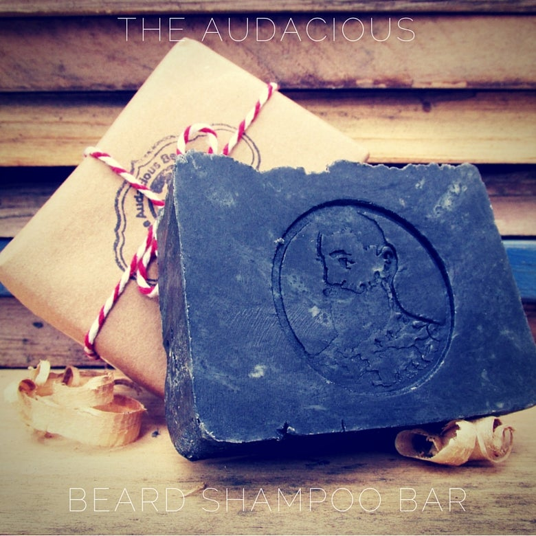 Image of The Audacious Beard Shampoo Bar