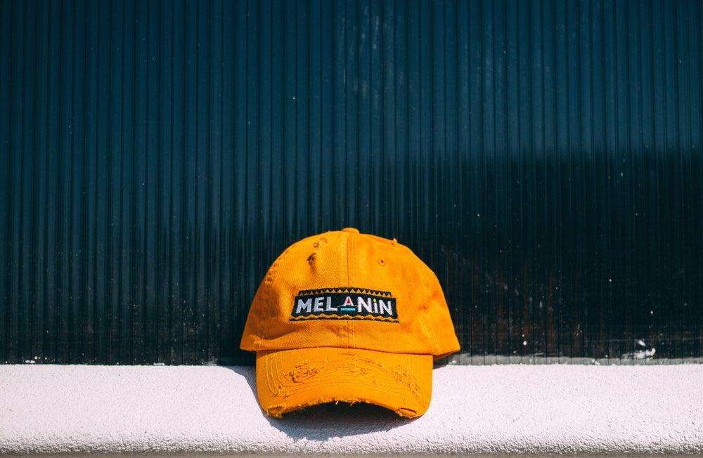 """Image of """"Martin"""" Mango Melanin hat"""