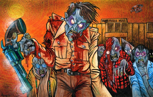 Image of 'Dawn of the Dead' Art Print