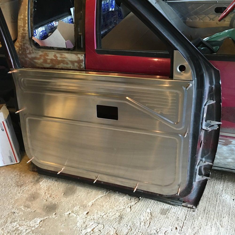Door Panel Material : Custom door panels selfmade fab