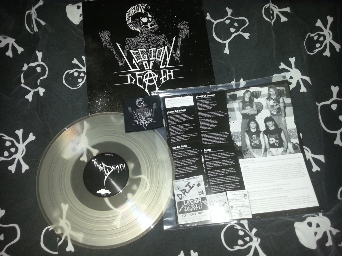Image of Legion of death LP (clear) U.S customers only