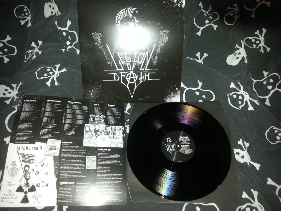 Image of Legion of death LP (black) U.S customers only