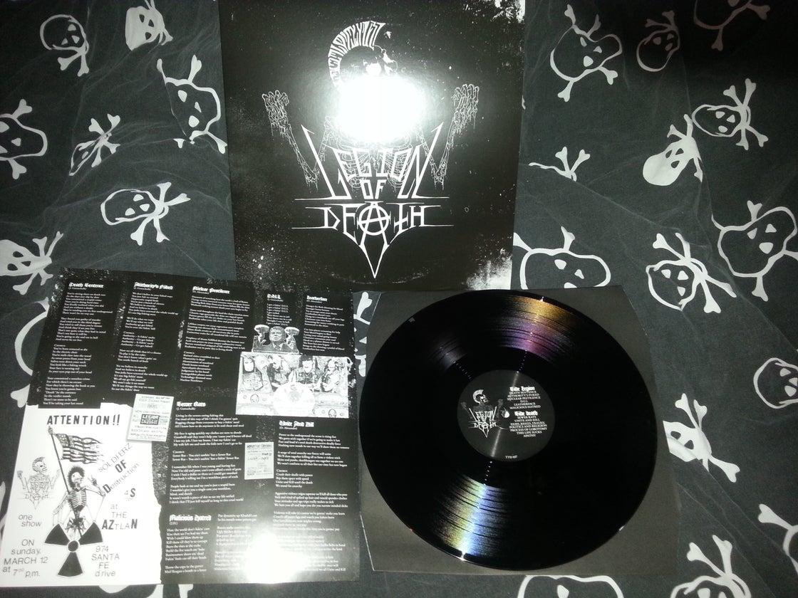 Image of Legion of death LP (black) U.S customers only