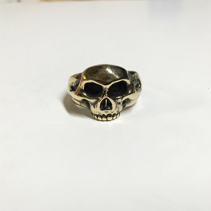 Image of Half Skull Ring