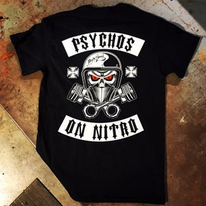 Image of Psychos on Nitro Tee