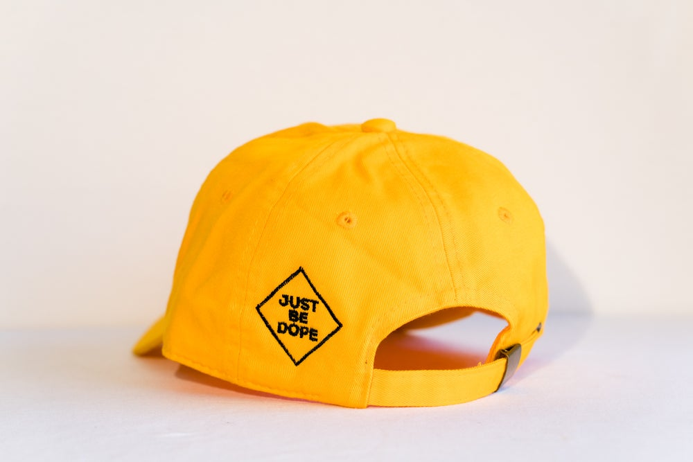 Image of Yellow I Love Myself hat