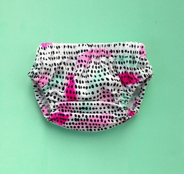 Image of Organic cotton 'pattern play' bloomer