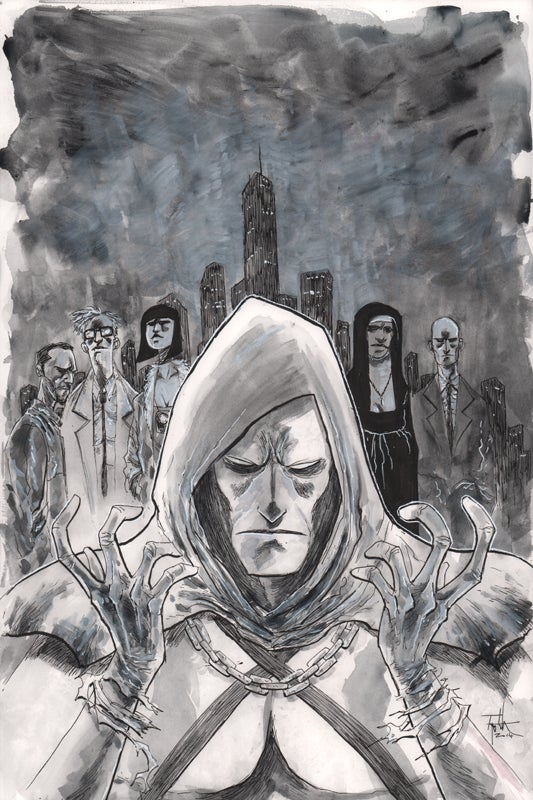 Image of GOTHAM BY MIDNIGHT #4 ALT COVER