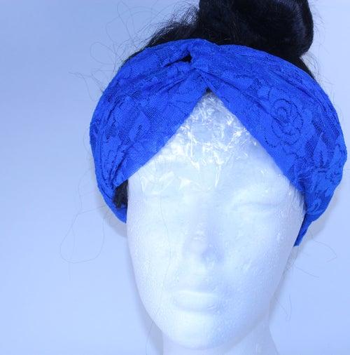 Image of Lace Turban Head wrap