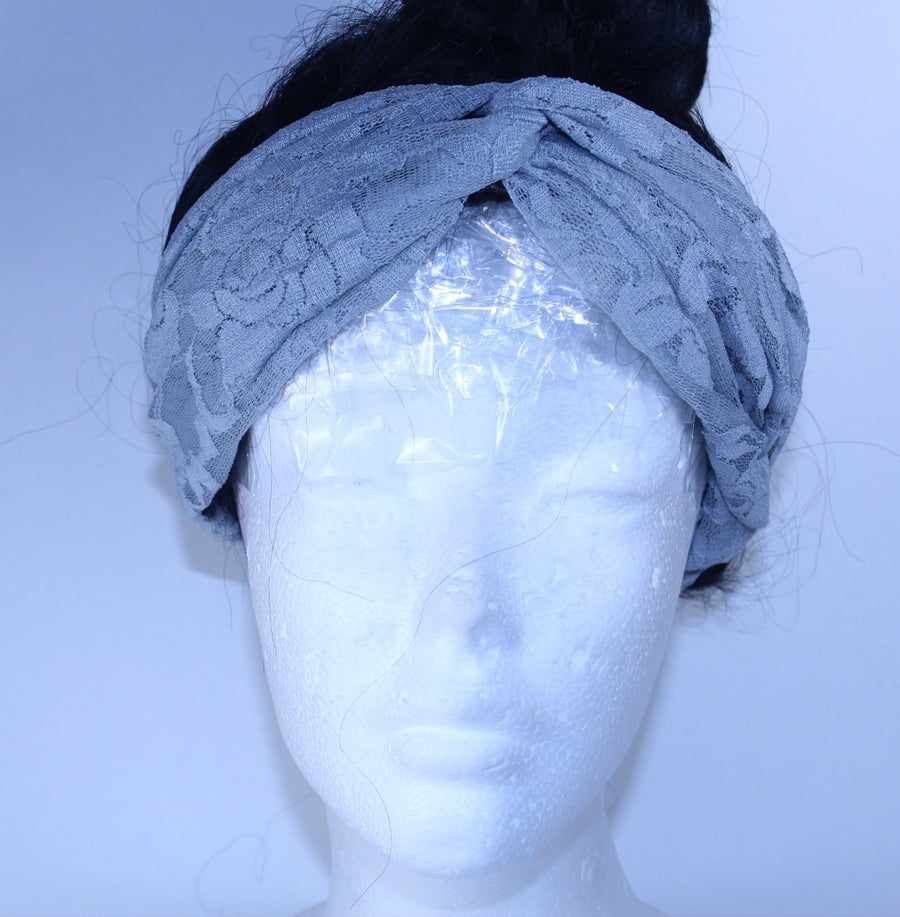 Image of Lace Turban Head wrap
