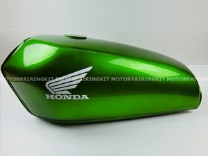 Image of Cafe Racer Honda CG125 / CB125 Fuel Tank/ Plain Green