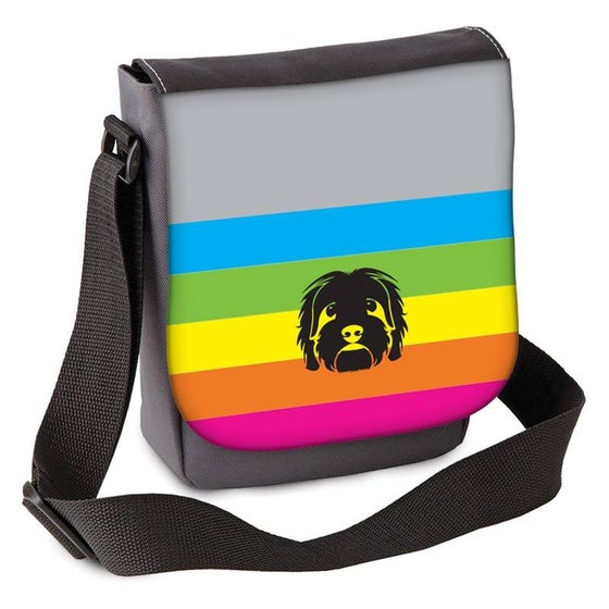 Image of 'Polaroid Stripe' Mini Shoulder Bag