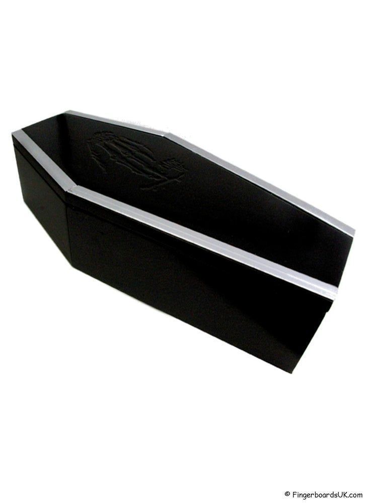 Image of Close Up Fingerskate Coffin Curb Grind/Storage Box Limited Edition Black
