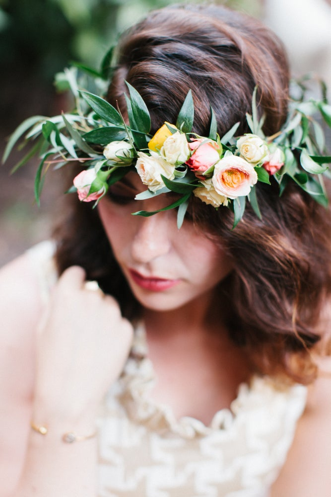 Image of Private Floral Design Class-Bouquets and Flower Crowns
