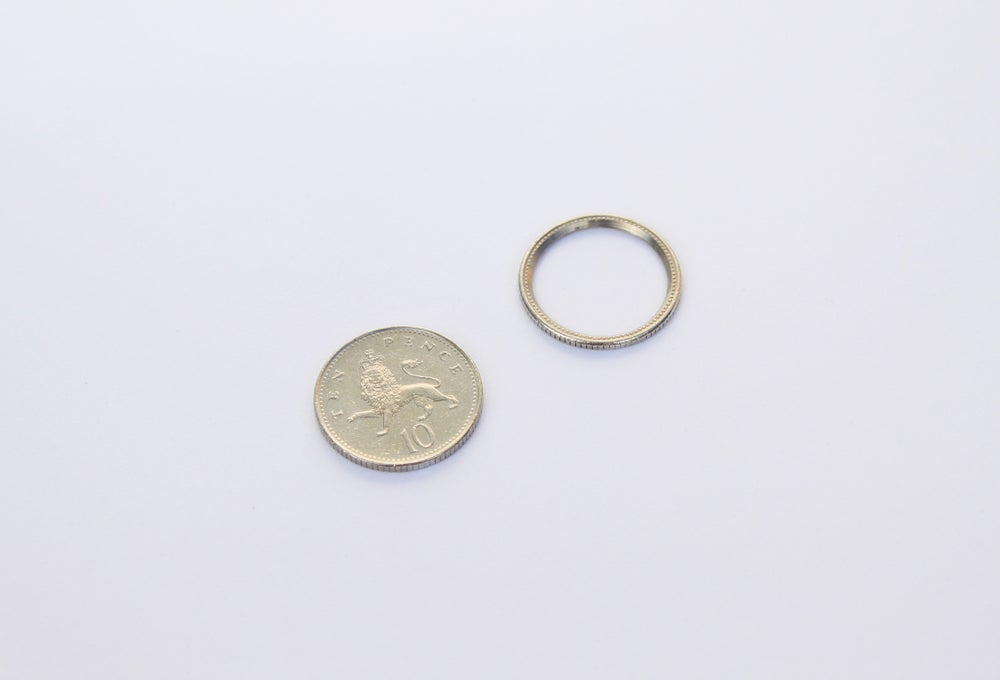 Image of Crown Jewels UK - 10 Pence Ring