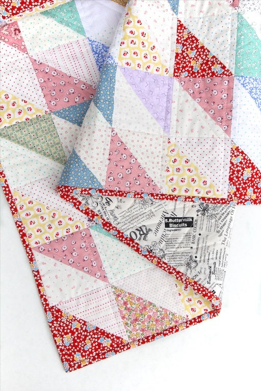 Image of 1930's Style Diamond Quilt