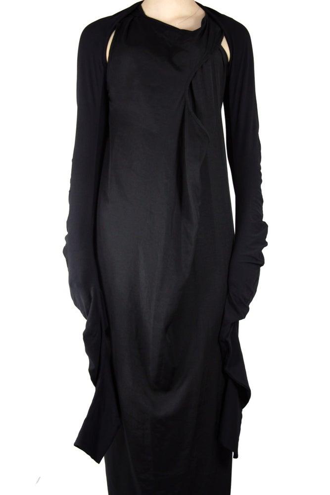 Image of Twist Sleeves Shrug Cardigan & Scarf