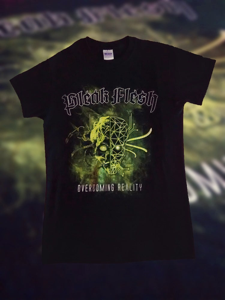 Image of Overcoming Reality Limited Zombie Green T-Shirt