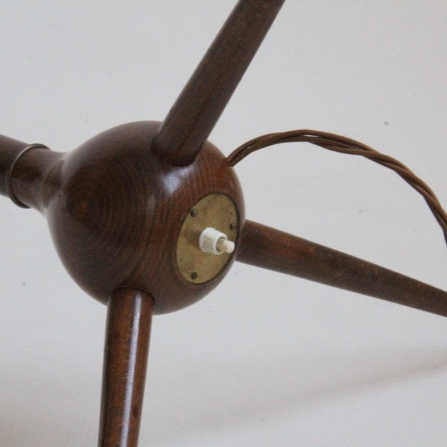 Image of Severin Hansen floor lamp for Haslev Møbelsnedkeri