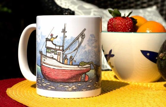 Image of Wrap-Around Setting Seiner Mug