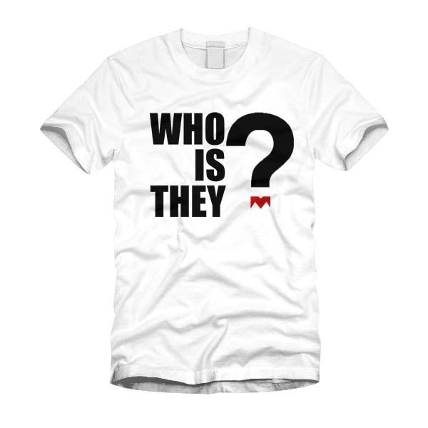Image of Who is They White Short Sleeves