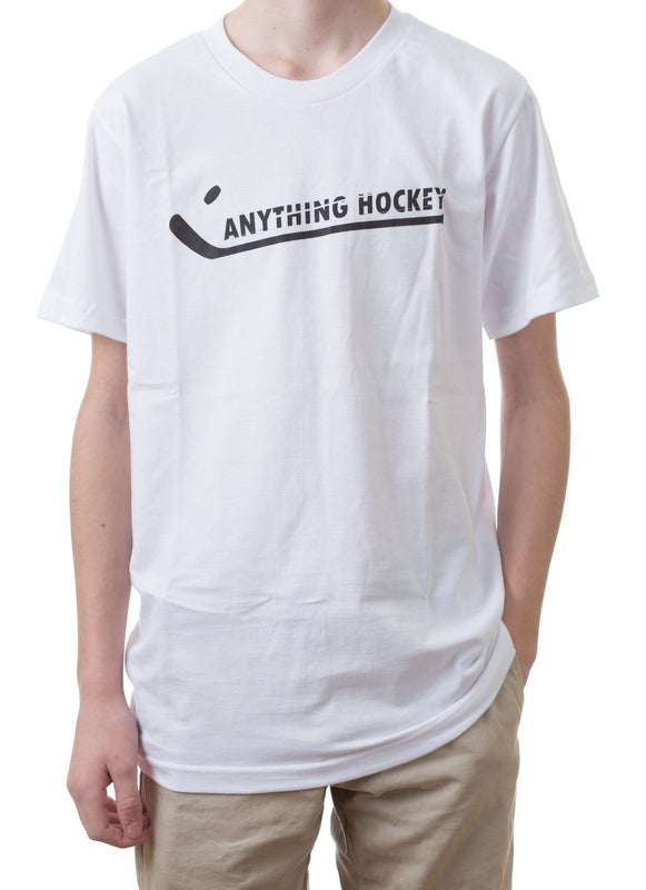 Image of Anything Hockey Logo T - Shirt