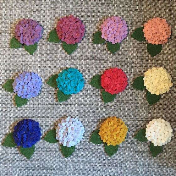 Image of mini hydrangeas (made-to-order)