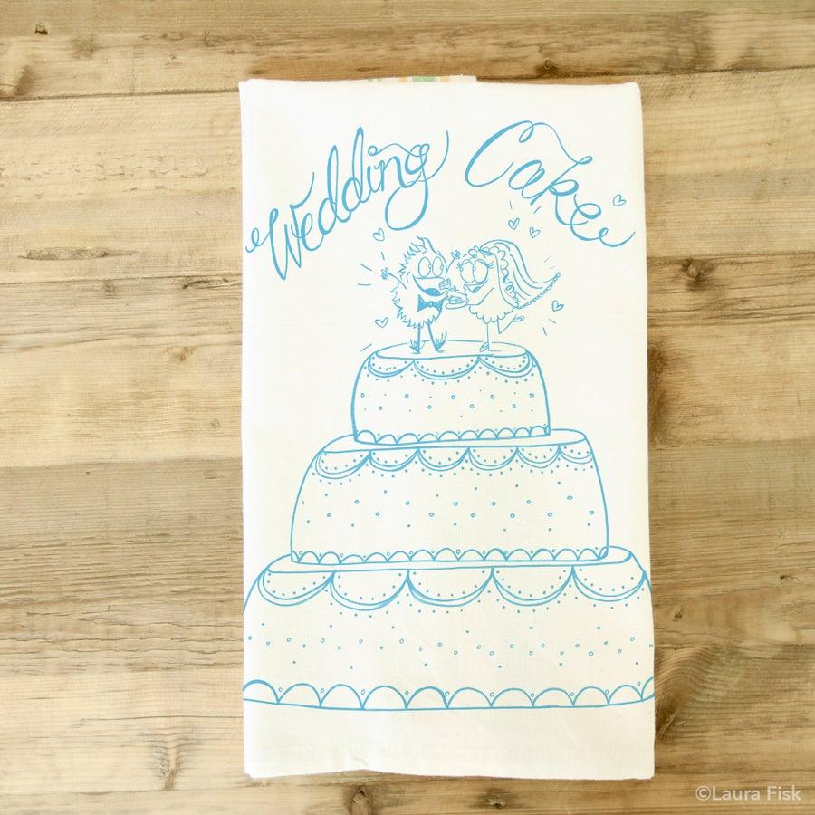 Image of Wedding Cake Tea Towel