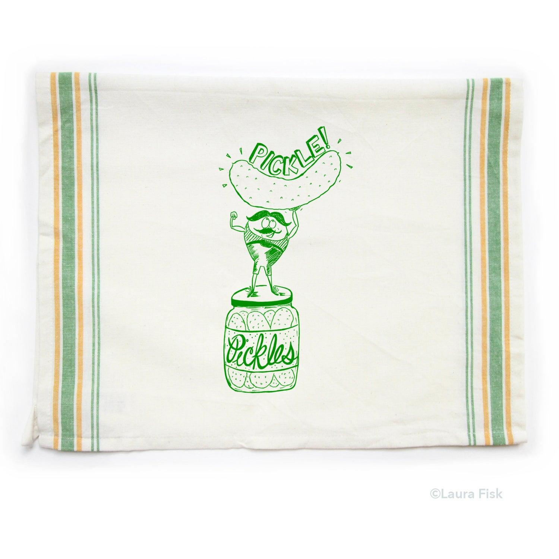 Image of Pickle tea towel