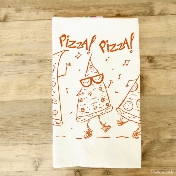 Image of Pizza Dudes Tea Towel
