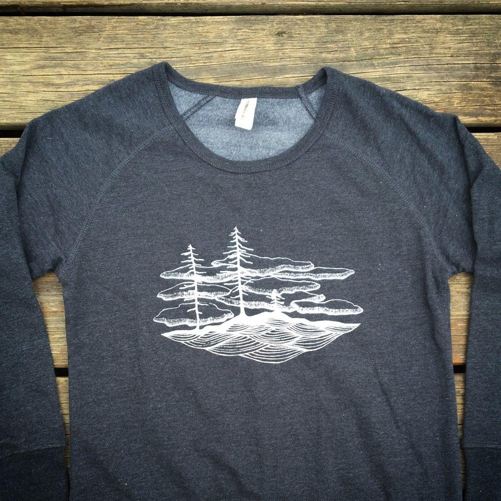 Image of Floating- Women's Organic Blend Sweatshirt