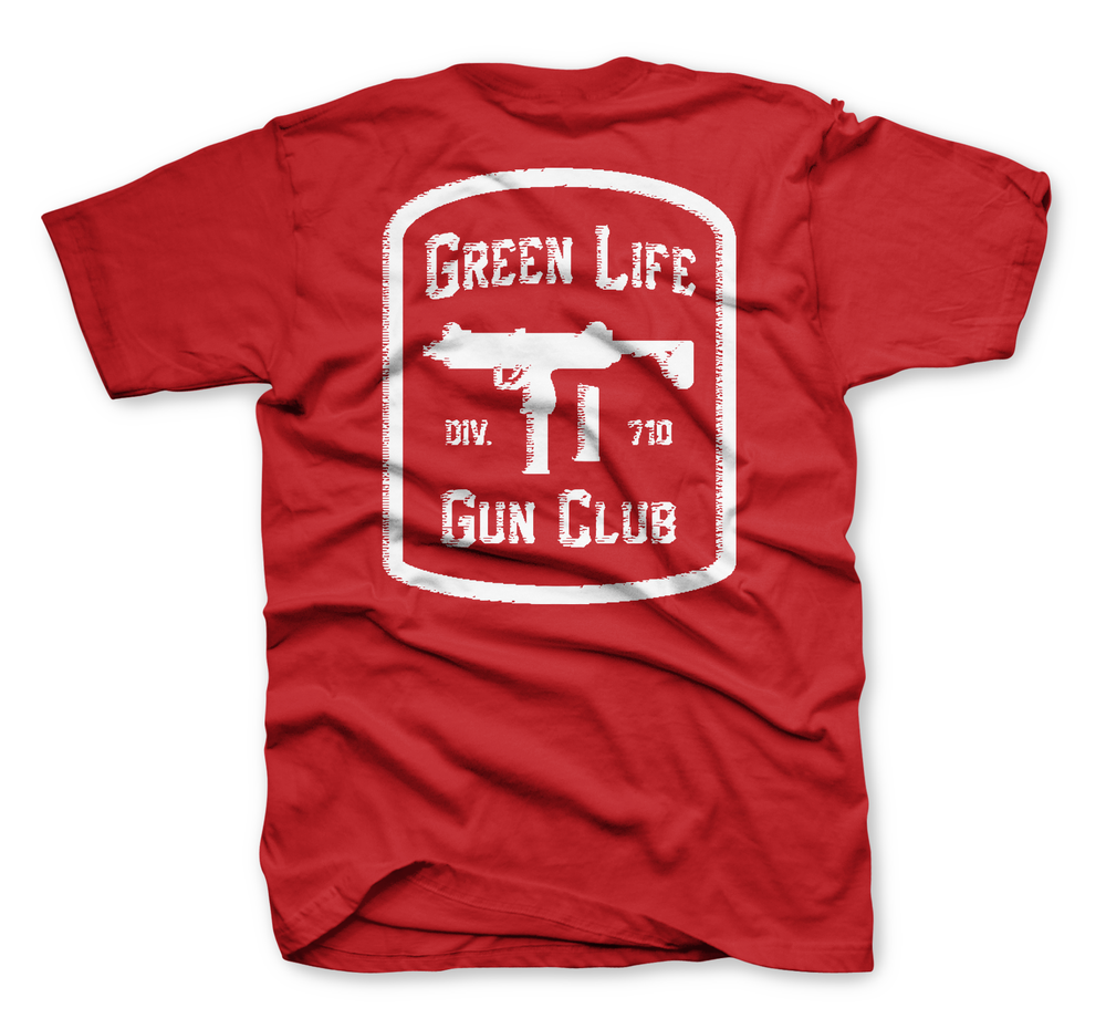 Image of The Gun Club Tee in Red