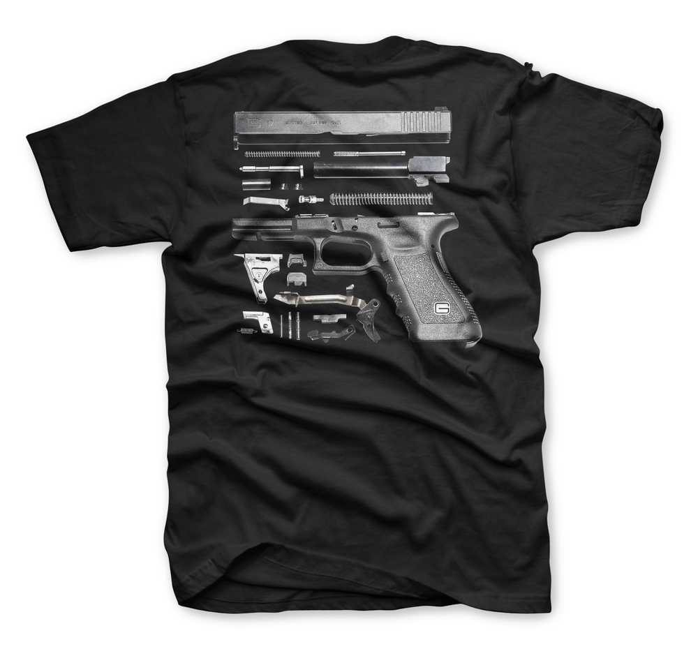 Image of The Glock Tee in Black