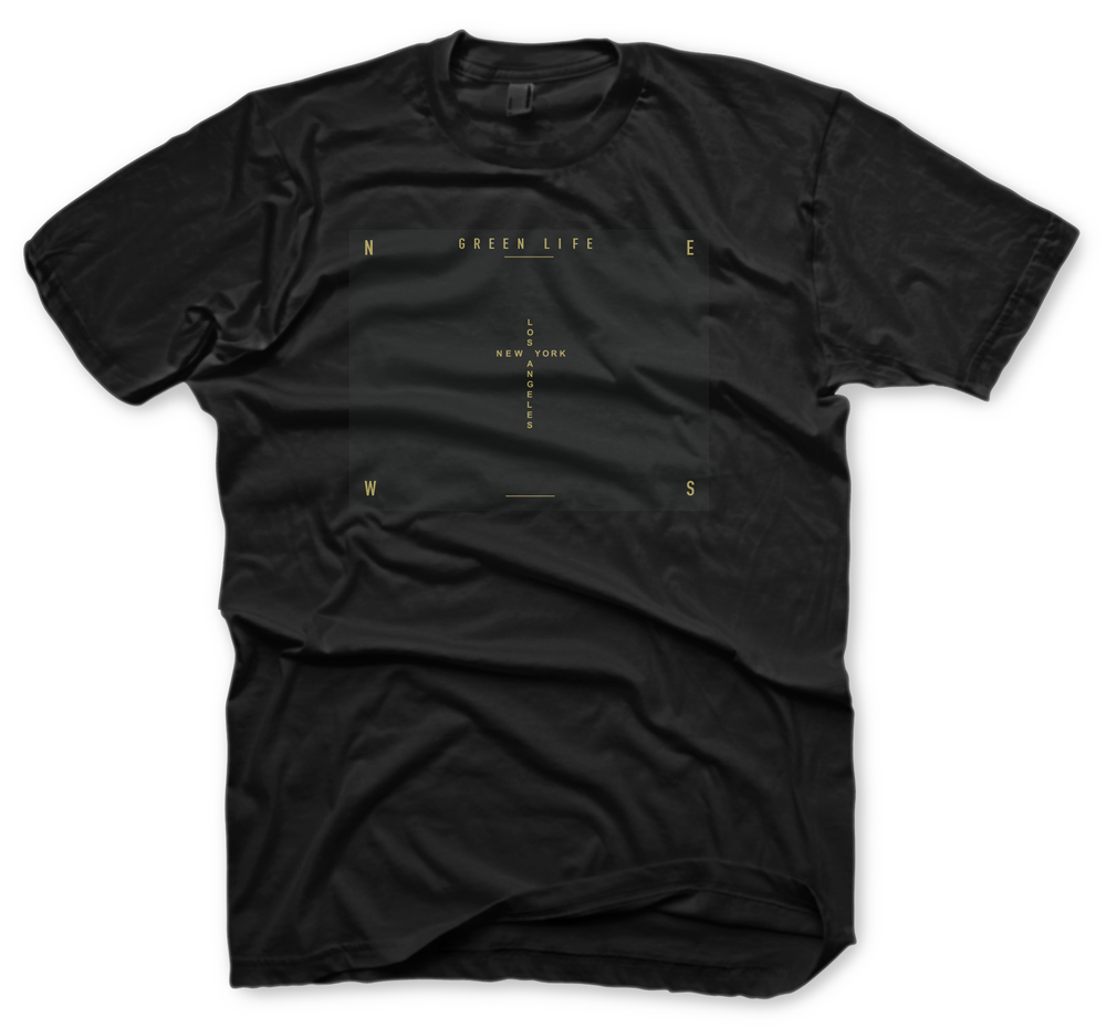 Image of The Connection Tee in Black