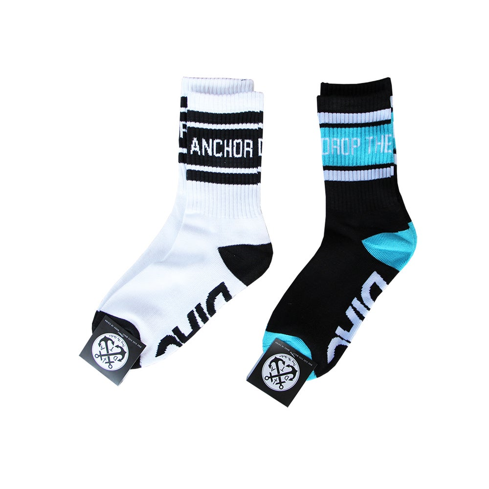 Image of Block Crew Socks