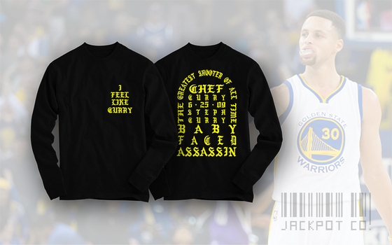 "Image of I Feel Like Curry ""Hardwood Classic"" Edition Longsleeve"