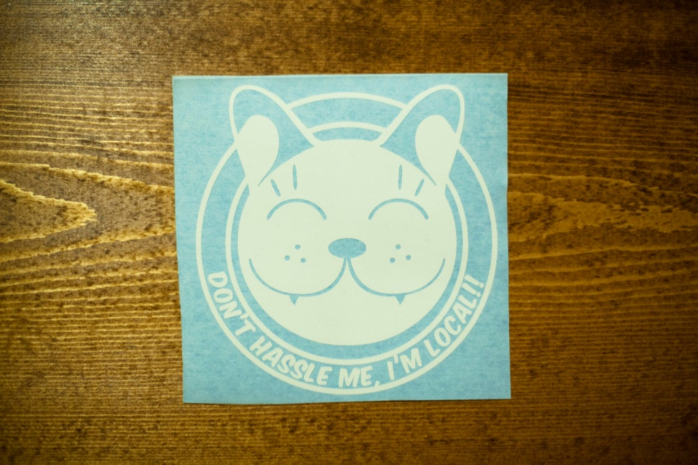Image of Don't hassle the Locals - Lucky Cat