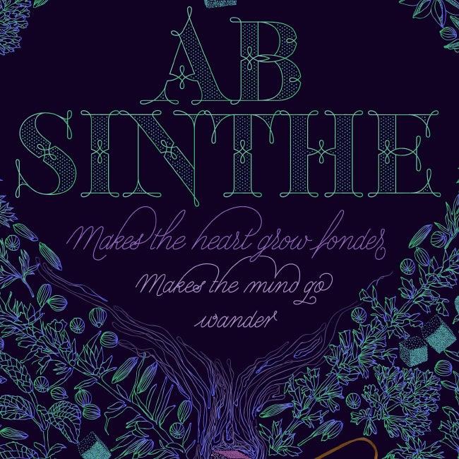 Image of ABSINTHE 50X70CM