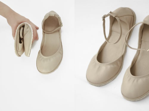 Image of Two-piece flat shoes - Minimus - Wedding shoes