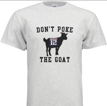 Image of Don't Poke The GOAT - Tee Shirt
