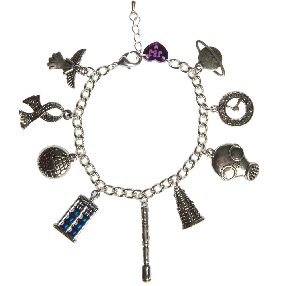 Image of Dr Who Charm Bracelet