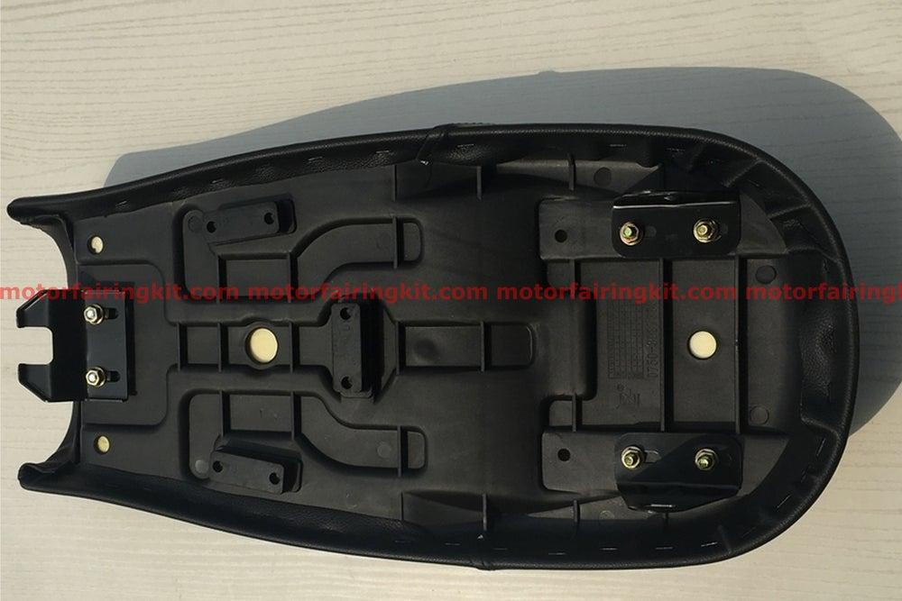 Image of Honda CG125 Seat - Classic Minimal Flat Seat