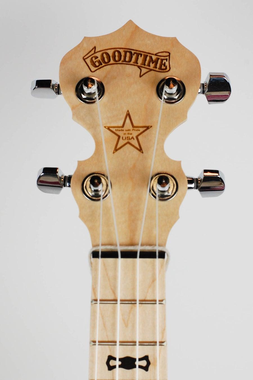 Image of Deering Goodtime Concert Banjo Ukulele (CASE INCLUDED)