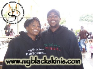 "Image of ""my black skin is Historical..."