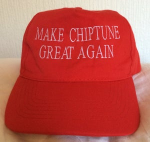 """Image of """"Make Chiptune Great Again"""" Baseball Cap [SOLD OUT]"""
