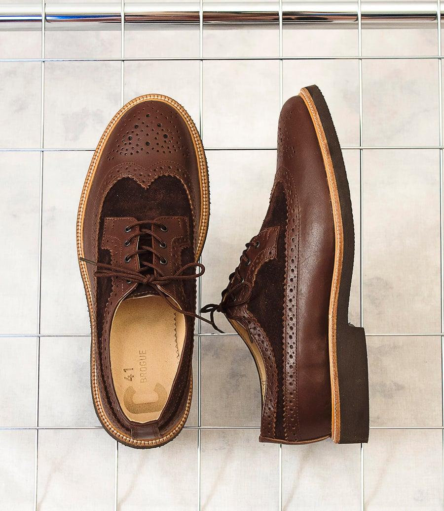 Image of Handmade Shoes | 603 Brogue Wingtip