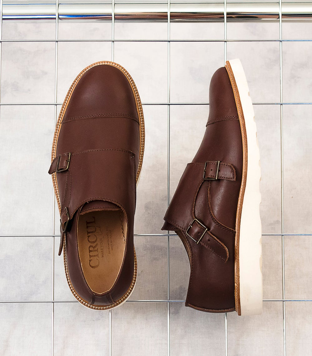 Image of Handmade Shoes | 401 Monk Double Strap