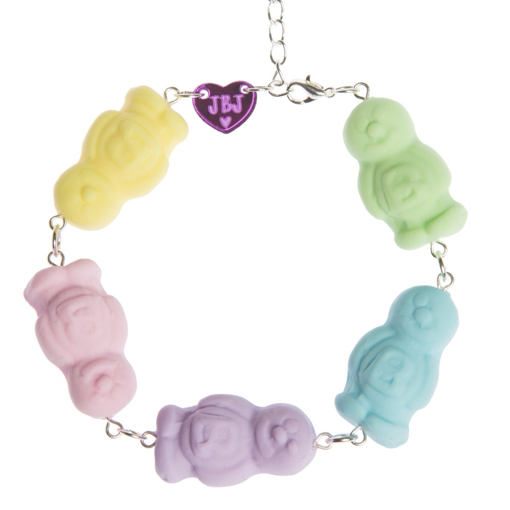 Image of Pastel Jelly Baby Bracelet