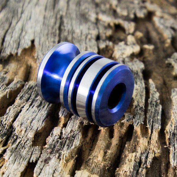 Image of Electric Blue Double Bead Set #2
