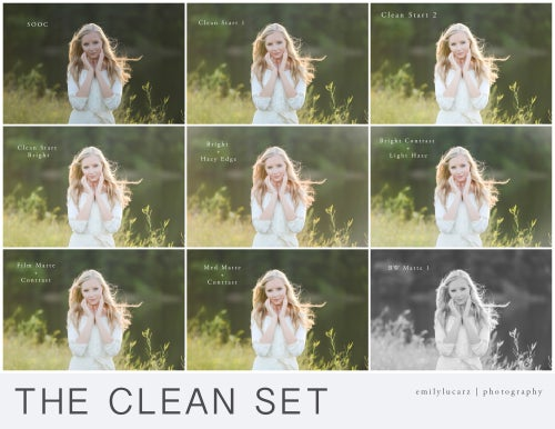 Image of The Clean Set - Photoshop 4 and up